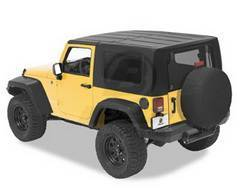 Replacement Top - Top-Hard - Bestop - Bestop 41610-01 Jeep Hard Top