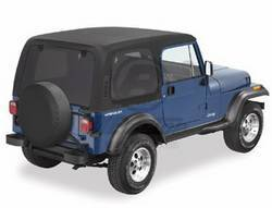 Replacement Top - Top-Hard - Bestop - Bestop 41497-01 Jeep Hard Top