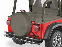 Spare Tire Cover - Spare Tire Cover - Bestop - Bestop 61031-36 Spare Tire Cover