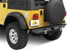 Bumper - Bumper- Rear - Bestop - Bestop 42902-01 HighRock 4x4 Rear Bumper