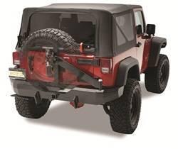Bumper - Bumper- Rear - Bestop - Bestop 42934-01 HighRock 4x4 Rear Bumper