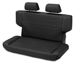 Seat - Seat - Bestop - Bestop 39435-15 TrailMax II Rear Bench Seat Fold And Tumble Style