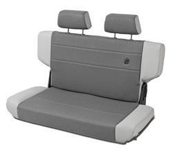 Seat - Seat - Bestop - Bestop 39439-09 TrailMax II Rear Bench Seat Fold And Tumble Style