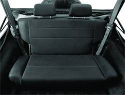 Seat - Seat - Bestop - Bestop 39440-01 TrailMax II Rear Bench Seat Fold And Tumble Style