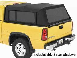 Truck Bed Top Window - Truck Bed Top Window - Bestop - Bestop 76320-35 Supertop For Truck Tinted Window Kit