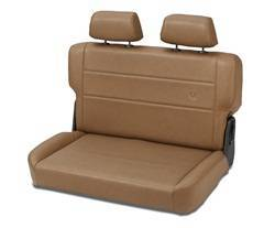 Seat - Seat - Bestop - Bestop 39440-37 TrailMax II Rear Bench Seat Fold And Tumble Style