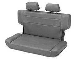 Seat - Seat - Bestop - Bestop 39435-09 TrailMax II Rear Bench Seat Fold And Tumble Style