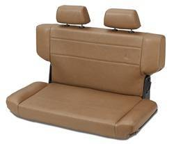 Seat - Seat - Bestop - Bestop 39435-37 TrailMax II Rear Bench Seat Fold And Tumble Style