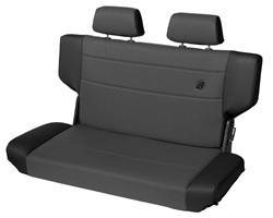 Seat - Seat - Bestop - Bestop 39439-15 TrailMax II Rear Bench Seat Fold And Tumble Style