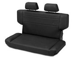 Seat - Seat - Bestop - Bestop 39435-01 TrailMax II Rear Bench Seat Fold And Tumble Style