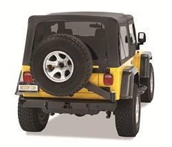Bumper - Bumper- Rear - Bestop - Bestop 42931-01 HighRock 4x4 Rear Bumper