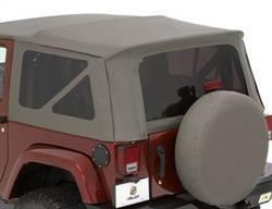 Replacement Top - Window Kit -Side/Rear - Bestop - Bestop 58129-36 Tinted Window Kit