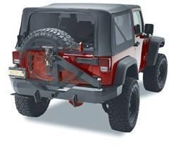 Bumper - Bumper- Rear - Bestop - Bestop 44934-01 HighRock 4x4 Rear Bumper