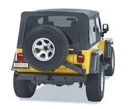 Bumper - Bumper- Rear - Bestop - Bestop 44931-01 HighRock 4x4 Rear Bumper