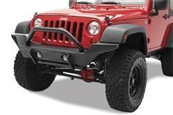 Bumper - Bumper- Front - Bestop - Bestop 44918-01 HighRock 4x4 High Access Front Bumper