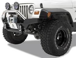 Bumper - Bumper- Front - Bestop - Bestop 44917-01 HighRock 4x4 High Access Front Bumper