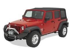 Bumper - Bumper- Front - Bestop - Bestop 44910-01 HighRock 4x4 Full Width Front Bumper