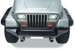 Bumper - Bumper- Front - Bestop - Bestop 44908-01 HighRock 4x4 Full Width Front Bumper