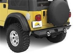 Bumper - Bumper- Rear - Bestop - Bestop 44902-01 HighRock 4x4 Rear Bumper