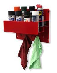 Shop Equipment - Garage/Shop Organizer - Go Rhino - Go Rhino 2004R Garage/Shop Organizer Aerosol Can Holder