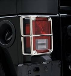 Exterior Lighting - Tail Light Guard - Smittybilt - Smittybilt 8665 Tail Light Guard