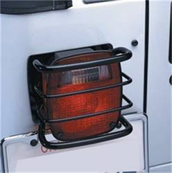 Exterior Lighting - Tail Light Guard - Smittybilt - Smittybilt 8660 Euro Taillight Guard