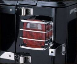 Exterior Lighting - Tail Light Guard - Smittybilt - Smittybilt 8460 Euro Taillight Guard