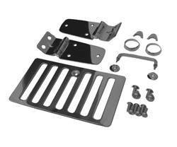 Hood Accessories - Hood Latch Assembly - Smittybilt - Smittybilt 7699 Complete Hood Kit