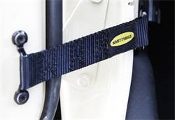 Door Hardware - Door Check Strap - Smittybilt - Smittybilt 769401 Adjustable Door Strap