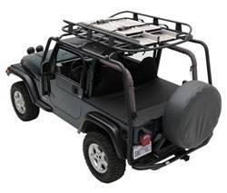 Roof Rack - Roof Rack - Smittybilt - Smittybilt 76716 SRC Roof Rack 2-Door Jeep Wrangler JK 2007-2018