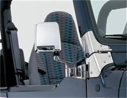 Door Mirror - Door Mirror Kit - Smittybilt - Smittybilt 7504 Side Mirror Kit