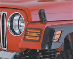 Head Lights and Components - Head Light Guard - Smittybilt - Smittybilt 5660 Euro Headlight Guard