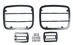 Head Lights and Components - Head Light Guard - Smittybilt - Smittybilt 5659 Euro Headlight Guard