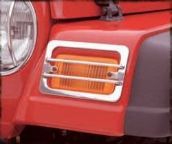 Exterior Lighting - Turn Signal Guard - Smittybilt - Smittybilt 5470 Euro Turn Signal Guard