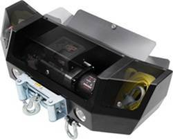 Winch Accessories - Winch Cradle - Smittybilt - Smittybilt 2806 XRC Black Box Winch Mount Cradle