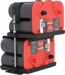Battery Accessories - Battery Tray - Smittybilt - Smittybilt 2800 Dual Battery Tray