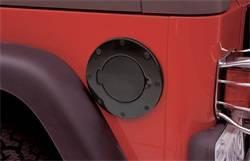 Fuel Filler Door - Fuel Filler Door Cover - Smittybilt - Smittybilt 75007 Billet Style Gas Cover