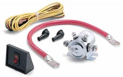 Battery Accessories - Battery Cutoff Switch - Warn - Warn 62132 Power Interrupt Kit