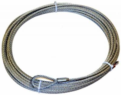 Winch Accessories - Winch Rope - Warn - Warn 61950 Wire Rope