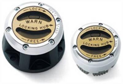 4WD Hubs and Actuators - Locking Hub Kit - Warn - Warn 20990 Premium Manual Hub Kit