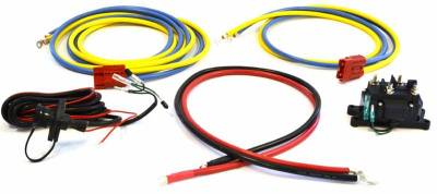 Winch Accessories - Winch Wire Harness - Warn - Warn 64874 Multi-Mount ATV Wiring Kit For Second Bike