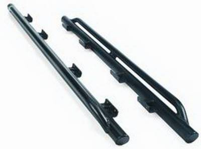 Body Protection - Rocker Panel Guard - Warn - Warn 74580 Rock Sliders