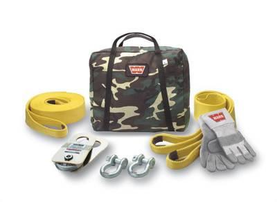 Winch Accessories - Winch Accessory Kit - Warn - Warn 62858 Medium Duty Winching Accessory Kit