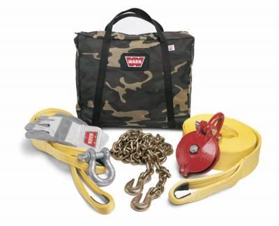 Winch Accessories - Winch Accessory Kit - Warn - Warn 29460 Heavy Duty Winching Accessory Kit