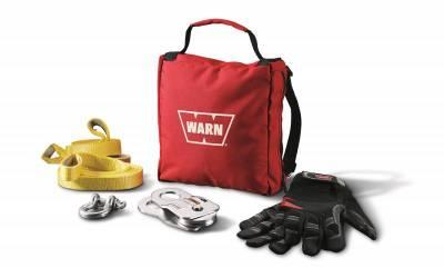 Winch Accessories - Winch Accessory Kit - Warn - Warn 88915 Light Duty Winching Accessory Kit