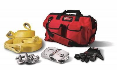 Winch Accessories - Winch Accessory Kit - Warn - Warn 88900 Medium Duty Winching Accessory Kit
