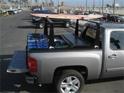 BAK Industries - BAK Industries 26116BT Hard Folding Truck Bed Cover and Sliding Rack System