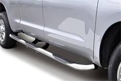 Nerf/Step Bar (Wheel to Wheel) - Nerf/Step Bar (Wheel to Wheel) - Go Rhino - Go Rhino 61128PS 6000 Series SideSteps Wheel To Wheel SideStep