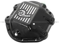 Differentials and Components - Differential Cover - aFe Power - aFe Power 46-70162 Pro Series Differential Cover