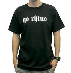 Clothing - Shirt - Go Rhino - Go Rhino EX0131M Goth Font T-Shirt
